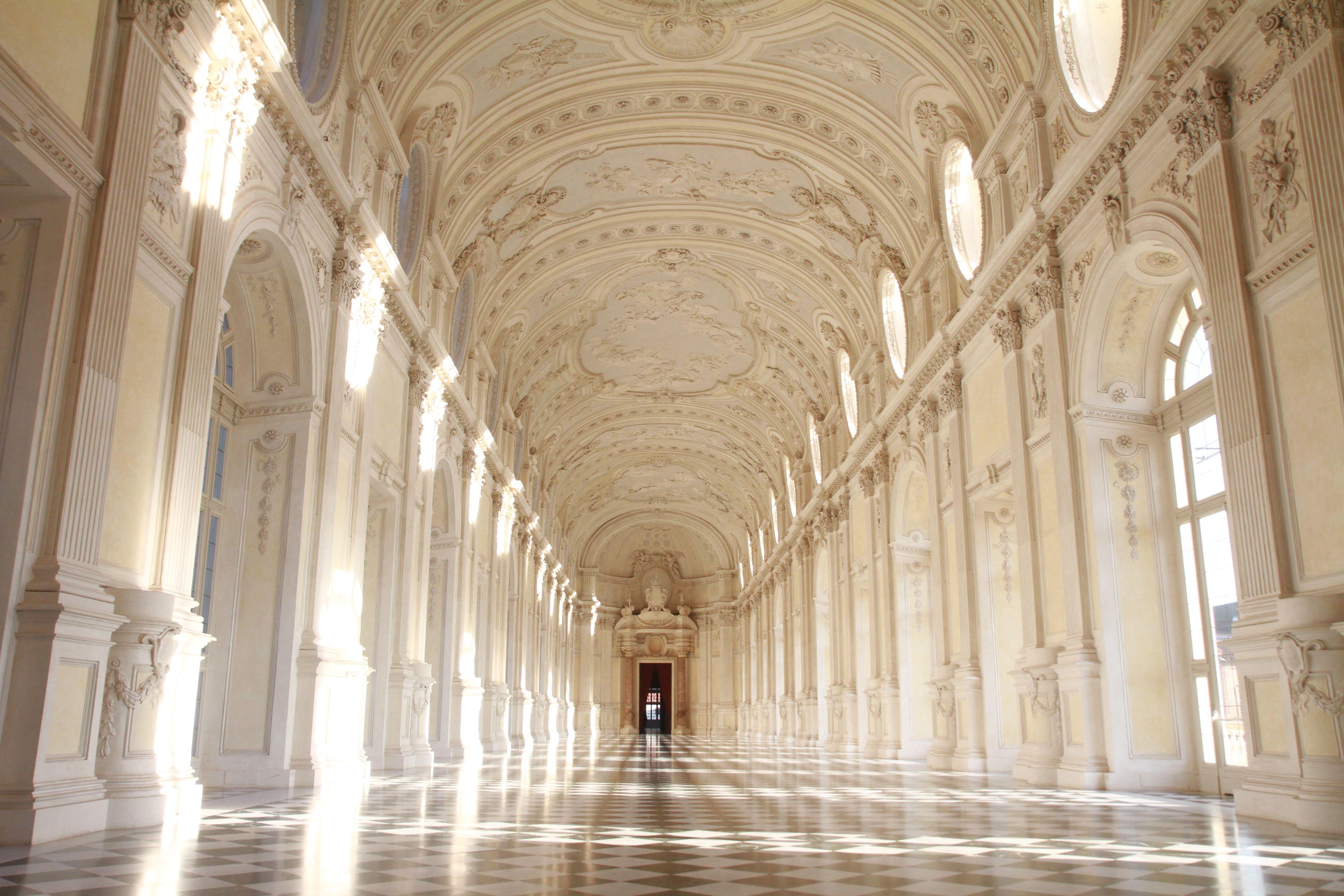 La Galleria Grande a Venaria Reale