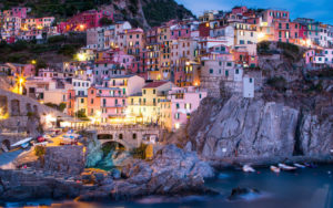 The Cinque Terre, coastal area within Liguria, in the northwest of Italy.