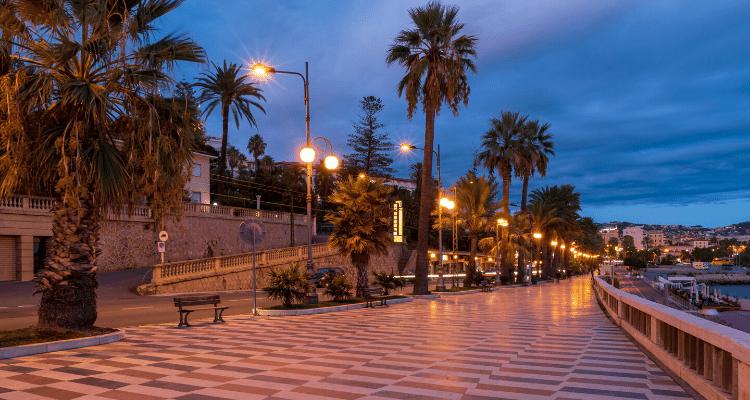 Sanremo promenade
